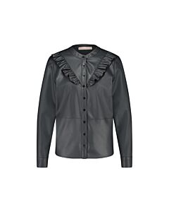 Studio Anneloes  Odelia dull leather blouse