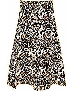 Transfer  Printed skirt