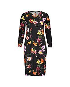 Basics+ dress LS print 18202134