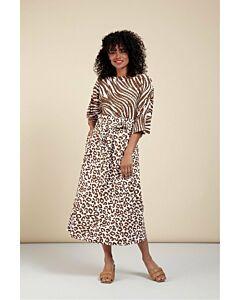Studio Anneloes Sadie leopard skirt 06017