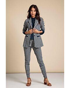 Studio Anneloes  Downup geo trousers 06244