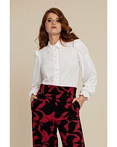 Studio Anneloes  Fae ruffle blouse 06372