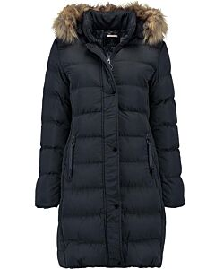 Rino Pelle with faux fur Nurita Hooded Padded Coat