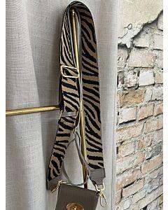 X  Tassen strap zebra bruin