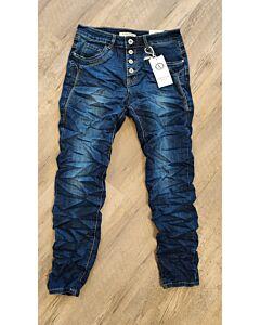Karostar jeans donkerblauw K5023