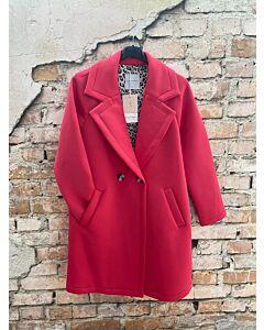 Rino Pelle  Scuba jersey coat