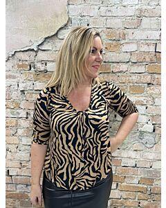 Iz Naiz Shirt v boordje  3418 zebra