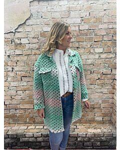 Ver  Vest/jas multicolour Chantal