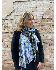 Sun  Sjaal multiprint colour