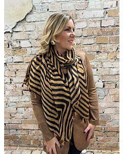 Sun  Sjaal zebra