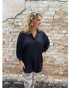 Ver  Lange satin blouse Eliza