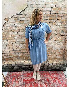 Day  Doorknoop denim blouse Emily