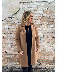 Rino Pelle  Babice faux suede coat