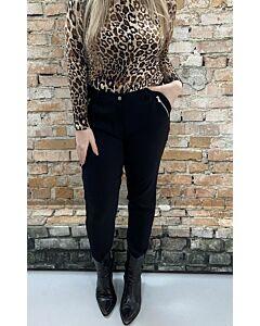Cdlc  Pants Zippers Shiny Bengaline 772