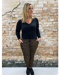 Iz Naiz  Broek leopard