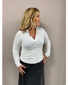 Iz Naiz drapperie 3706 blouse